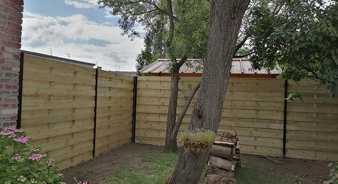 Mise en place de clôture à Bousbecque