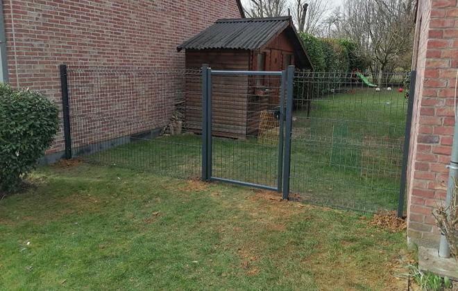 Installation de clôture à Bousbecque